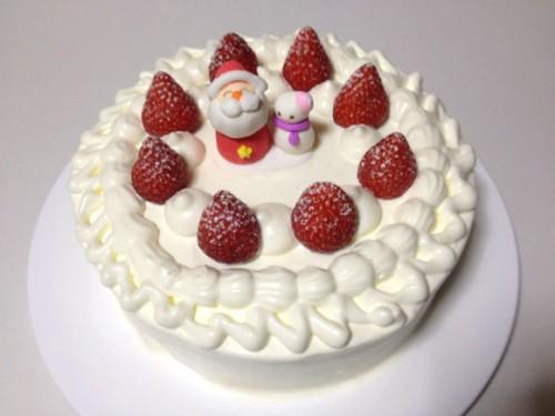 クリスマスケーキ完成!