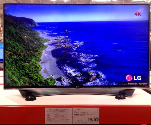 LG SMART TV 55UF9500 4Kテレビ