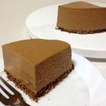 チョコレートチーズケーキに初挑戦!成功?失敗?ある実験を兼ねて!