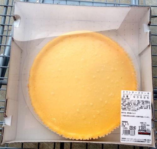 コストコのスフレチーズケーキ