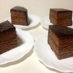 チョコレートケーキ作り、初体験しました!成功?味や食感は?