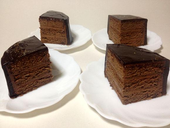クラシックチョコケーキ作りました。