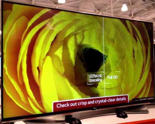 LGの4Kテレビ