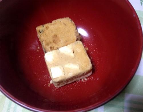 マルコメ 京懐石 味噌汁セットの豆腐のフリーズドライ