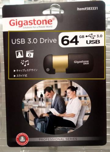ギガストーン USB3.0 64GB フラッシュメモリー