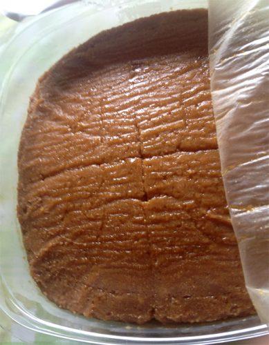 味噌のラップは乾燥を避けるため