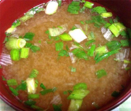 減塩味噌汁、料亭の味が完成