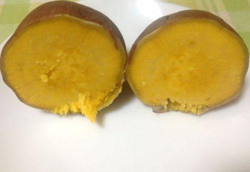 楽天で購入した安納芋を蒸焼きして