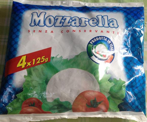 コストコのモッツァレラチーズ