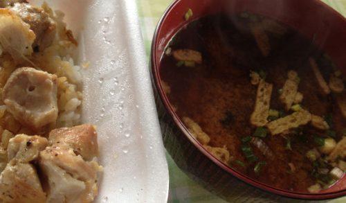 コストコのインスタント味噌汁も加えて