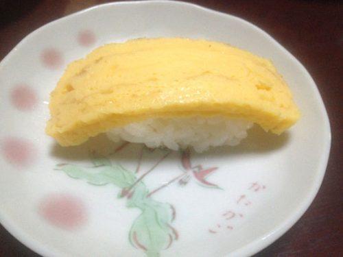 くら寿司のネタのタマゴ焼き