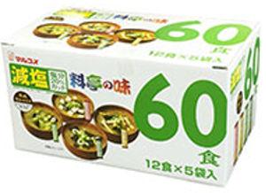 料亭の味みそ汁 減塩 60食(12食×5袋入り)