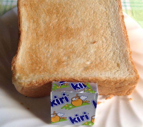 トーストにも合うkiri クリームチーズ