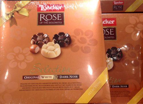 ローカー ローズ型チョコレート