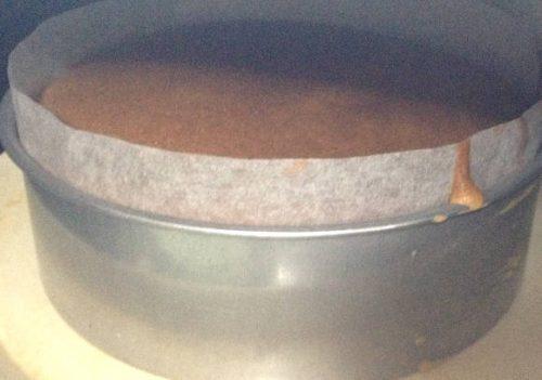 ふんわり厚みのあるスポンジケーキ