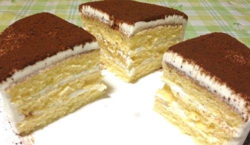 ケーキ作りを手早く作る