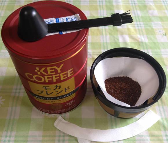 市販のコーヒーフィルターをアレンジする