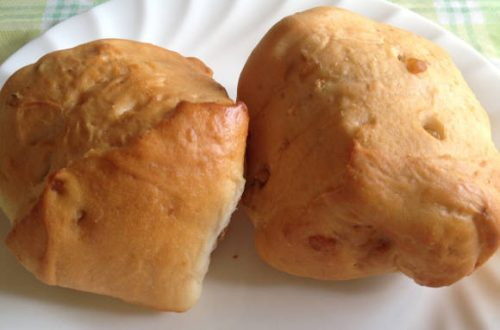 ウォールナッツロールパン